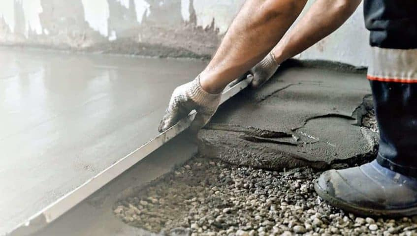 Пропорции песка и раствора цемента для стяжки пола