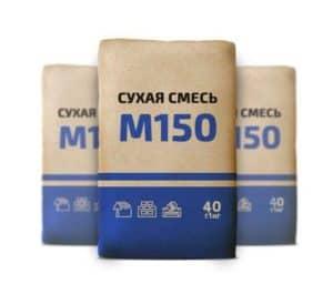 Сухая смесь М150, мешок 40 кг