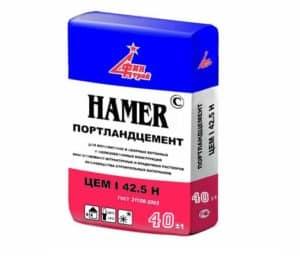 Портландцемент М500 (Хамер), мешок 40 кг, «Финстрой»