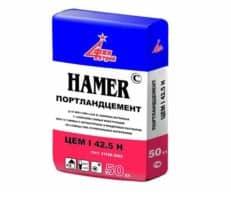 Портландцемент М500 (Хамер), мешок 50 кг, «Финстрой»
