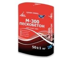 Пескобетон М-300 (ГОСТ), мешок 50 кг, «Финстрой»