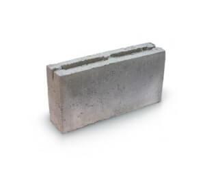 Блок пескоцементный 2х щелевой (перегородочный) 400x200x100