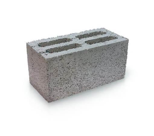 Блок керамзитобетонный 4-х щелевой 400х200х200