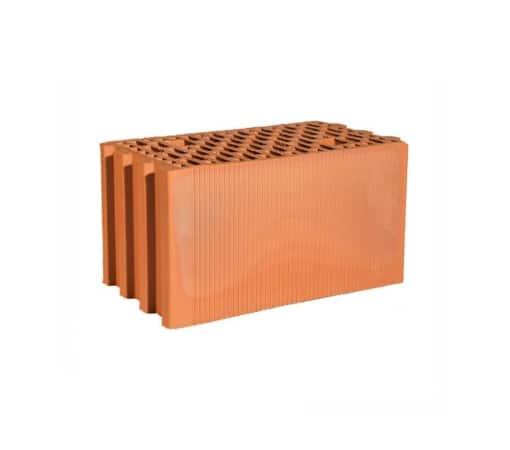 Крупноформатный керамический блок, Гжель 250 мм