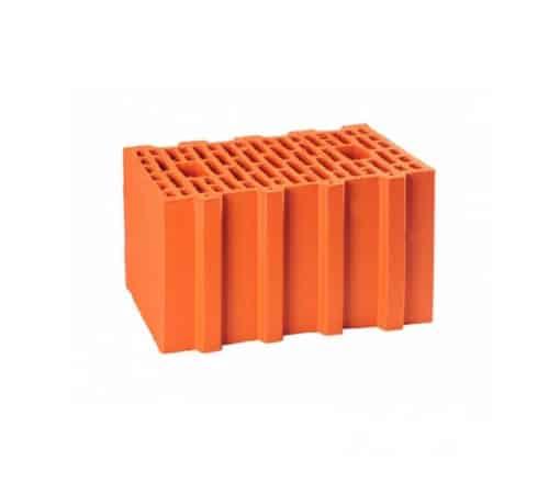 Крупноформатный керамический блок, Гжель 380 мм