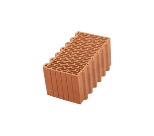 Крупноформатный керамический блок, Porotherm 440 мм