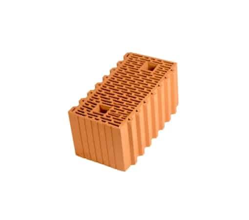 Крупноформатный керамический блок, Porotherm 510 мм