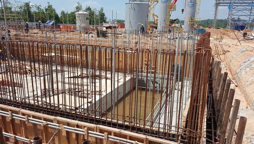 Количество цемента на фундамент